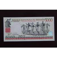 Руанда 5000 франков 1998 UNC