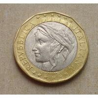 1000 лир 1998 года. Италия.