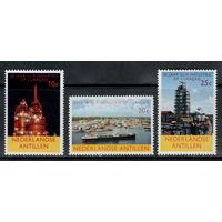 Нидерландские Антилы /1965/ Нефтяная Промышленность в Кюрасао / Серия 3 Марки