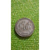 Австралия  1 доллар 2009 г ( 100 лет выплаты пенсий в странах Содружества  )