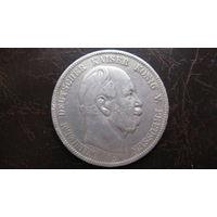 Пруссия Prussia 5 mark 5 марок 1876  ( серебро )