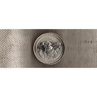 США 25 центов 2016/парки/ Шони Иллинойс(Ab)