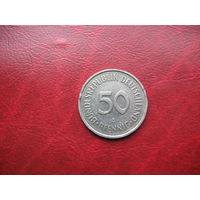 50 пфеннигов 1990 год А ФРГ