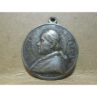 Медаль католическая Святой Папа римский Пий Х-й.Ватикан Италия 1903-1914 г