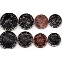 Бермуды - Набор 4 монеты - 2008 - UNC