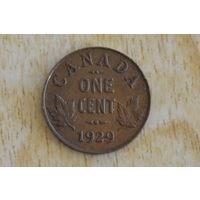 Канада 1 цент 1929