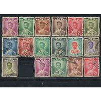 Таиланд 1951 Рама IX Бхумипол Адуладеж Стандарт #А 282-8.290-5, С 282-4,285