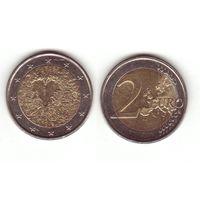 2 евро 2008г. 60 лет Всеобщей Декларации Прав Человека.