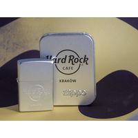Колекционная Zippo Hard Rock Cafe Krakow 2008г