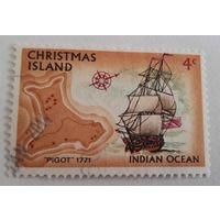 Остров Рождества, парусник, флот, распродажа