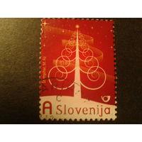 Словения 2009г. Рождество