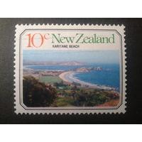 Новая Зеландия 1977 ландшафт