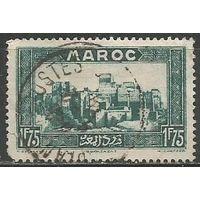 Французское Марокко. Касба Таурирт в Уарзазате. 1933г. Mi#111.