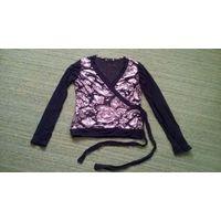 Черная кофточка или блузка