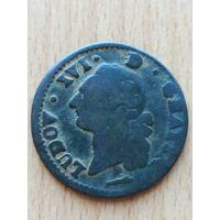Королевство Франция, Людовик XVI, 1/2 cу 1791 год.