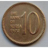 Южная Корея 10 вон, 1972 г.