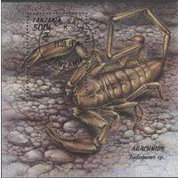 Танзания/1994/Скорпионы/Животные/ Фауна/СТО/Блок/