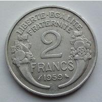 Франция 2 франка. 1959