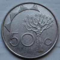 Намибия, 50 центов 1993 г