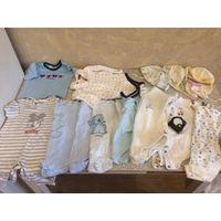 Лот одежды на малыша от 0-6 месяцев. 26 ед.