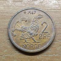 2 эре 1967  Норвегия