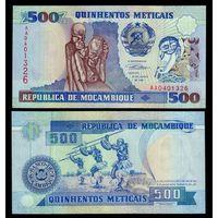 Мозамбик. 500 метикал 1991 [UNC]