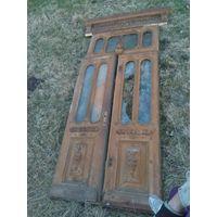 Двери входные старинные антикварные
