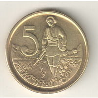 Эфиопия 5 сантим 2008
