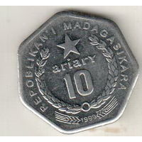 Мадагаскар 10 ариари 1999