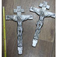 Литьё, металл,  православные кресты. С РУБЛЯ. АУКЦИОН!