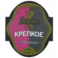 Этикетка Крепкое (Лидский пз)