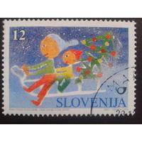 Словения 1996 Рождество