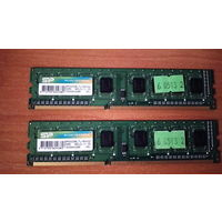 DDR3 1600 (CL11) 2Gb Оперативная память (ОЗУ) DDR3 2GB * 2 шт суммарно 4Gb