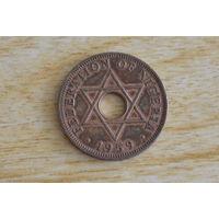 Нигерия 1 пенни 1959(один год)