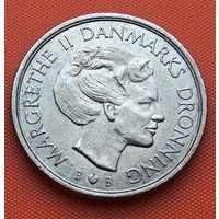120-16 Дания, 1 крона 1980 г.
