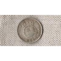 Мозамбик Португальская колония 2.5 эскудо 1950 //серебро/(Ст)