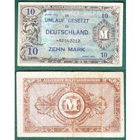 Германия 10 марок 1944 год