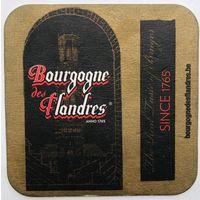 Подставка под пиво Bourgogne des Flandres /Бельгия/