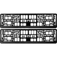 Рамки для номерного знака черные Pilot Арт. 8523 2шт