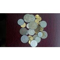 31 монета Польши разных годов