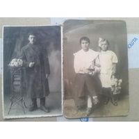 2 Фото Полесской жизни в Москве 1927г..Довоенное Полесье.