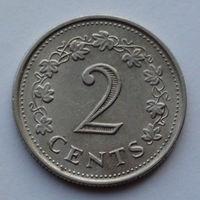Мальта 2 цента. 1977