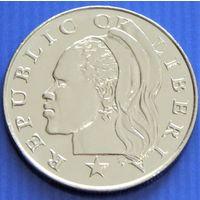 Либерия. 25 центов 2000 год KM#16b