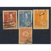 Грузия Дем. Респ 1919 Герб Царица Тамара Стандрт #6В-9В
