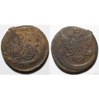 5 копеек 1760 год ММ