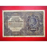 1000 марок. 1919г.
