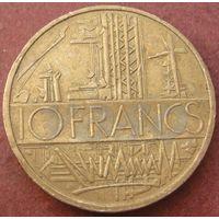6136:  10 франков 1984 Франция