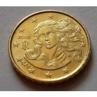 10 евроцентов, Италия 2006 г., AU