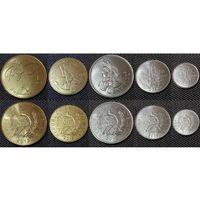 Гватемала набор 5 монет 2012-2016 UNC