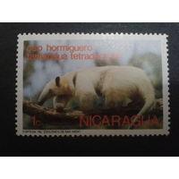 Никарагуа 1974 фауна